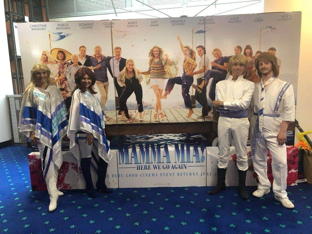 Mamma Mia Odyssey Cinema Belfast - The Bjorn Identity